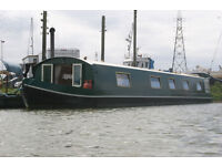 2010 60 feet wide beam canal boat with Gardner 2LW
