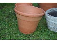 terracotta plant pot £6 cb1 collect