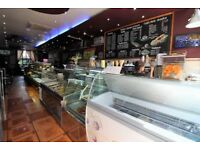Few yards from Shepherd bush station running cafe on main Uxbridge road -- Viewing by appointment