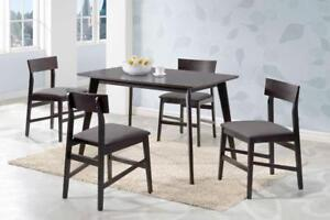 New 5 piece table set!!! still in box! Must sell!! Condo Size!!