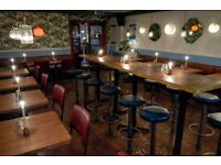Hopscotch - a dining room and drinking den on Brick Lane is looking for great waiting staff