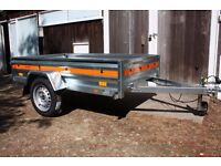 Brand New Car Trailer - Utility - Multi-Purpose - DIY - 750kg Removable rear tailgate