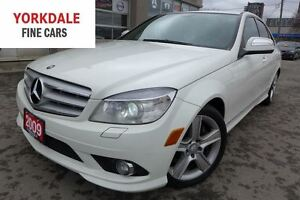 2009 Mercedes-Benz C-Class 300. 4Matic. Navigation. Leather. Roo