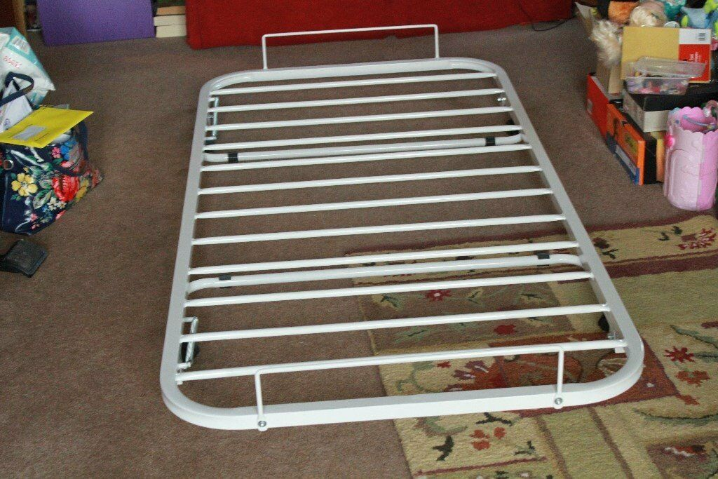 Trundle, Spare Foldable Single Bed with Memory Foam Matrass, In very good condition