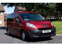 Peugeot Expert Tepee Wheelchair Accessible Vehicle 47,000 miles NEW MOT