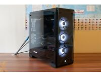 Corsair Crystal 570X Glass RGB PC Gaming Case
