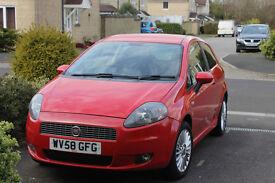 Fiat Grande Punto 1.4 8v 49000miles