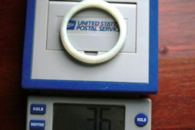 Jewelry019 Estate Jade Bangle Interior Diameter 59MM Outside Diameter 70MM - $298.00