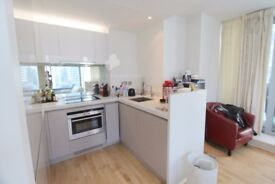 2 bed 2 bath pan peninsula available now!! £560PW **concierge**gym**spa** modern