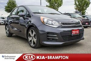 2016 Kia Rio SX|NAVI|LEATHER|ROOF|BACKUP CAM|ALLOYS