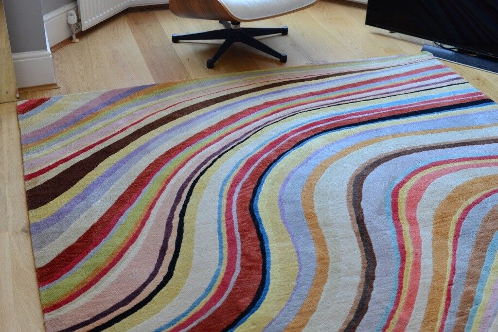 Genuine Paul Smith Swirl Rug