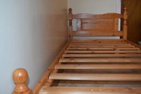 Solid Pine Single Bed Frame **REDUCED**