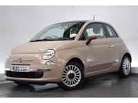 FIAT 500 1.2 LOUNGE 3d 69 BHP (beige) 2013