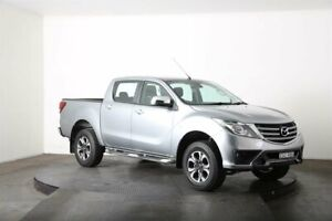 2018 Mazda BT-50 MY18 XTR (4x4) Silver 6 Speed Automatic Dual Cab Utility McGraths Hill Hawkesbury Area Preview