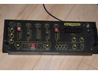 SYNERGY T 2000 MIXER 3 CHANNEL 2 MIC IN CAN BE SEEN WORKING