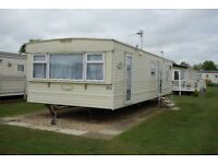 Spacious accessible 6-berth static caravan located on the Golden Palms Resort