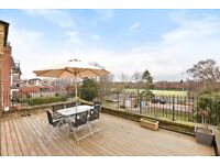 A spacious 2 bed flat to rent, with roof terrace and private parking. Worple Rd, Wimbledon SW19