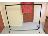 Heavy duty clothes rail 6ft long and 5 ft high super quality from Amazon