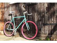 SALE ! GOKU cycles Steel Frame Single speed road bike TRACK bike fixed gear fixie EW1