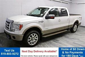 2012 Ford F-150 KING RANCH 4WD CREW! NAVIGATION! LEATHER! SUNROO