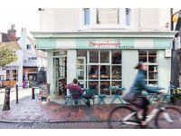 Experienced Waiting staff Full Time - Sugardough bakery & cafe Brighton
