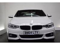 BMW 4 SERIES 2.0 425D M SPORT [M Performance Pack/19 (white) 2014