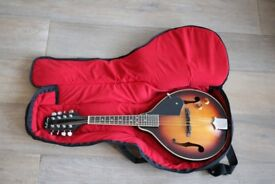 Ashbury A Style Electro Mandolin with case & chord book