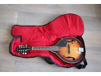 Ashbury A Style Electro Mandolin with case