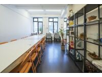 Creative offices in Bethnal Green / Options available for teams of up to 50 / From £700p/m