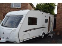 SWIFT CHALLENGER 530 / 4 BERTH CARAVAN 2007 WITH FULL AWNING AND REMOTE MOTOR MOVER