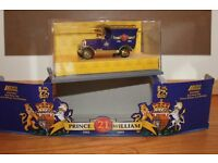 REDUCED PRICE – WAS £10 NOW ONLY £3.50 PRINCE WILLIAM 21ST BIRTHDAY 1982 – 2003 LLEDO MODEL VAN