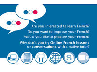 Online French lessons or conversations with a native French tutor and a Native French speaker