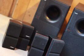Bose Acoustimass 600 Home Theater Speaker System Bose Redline Double Cube Speaker x8