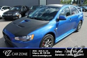 2012 Mitsubishi LANCER EVOLUTION GSR, AWD, LOW PAYMENT