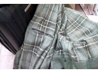 Green wax cotton jacket
