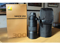 Nikon 300mmf4 IF-ED AFS
