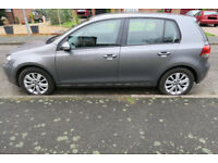 2012 (61) Volkswagen Golf 1.6 TDI Match Bluemotion 5dr, dark metallic grey - very good condition