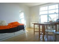 BEAUTIFUL LIGHT FILLED STUDIO FLAT WITH SEPARATE KITCHEN/VIEWS OF LONDON SKYLINE