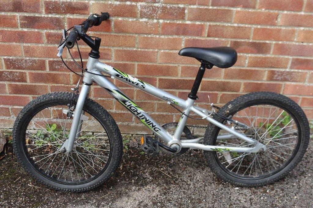 Dawes Lightning Boys 20 Inch Wheel Kids Bike 10 Inch Frame Age 5 8