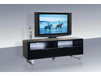 Accent, TV Unit, High gloss, Black, Chic design, modern, Boxed, New. tv unit. tv stand, Bargain,