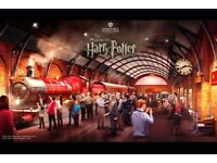 HARRY POTTER STUDIO TOUR LONDON TICKET + TRANSPORT 2nd September 2018 FOR SALE
