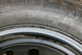 Wheel and Tyre for Rover 600 series