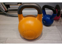 16kg Kettlebell by Wolverson Fitness