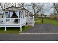 Luxury Platinum Graded Caravan at the Burnham on Sea Holiday Village. Prices from £230 pw.