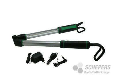 SMD LED Akku Motorhaubenleuchte Arbeitslampe Faltbar Werkstatt  120-170cm