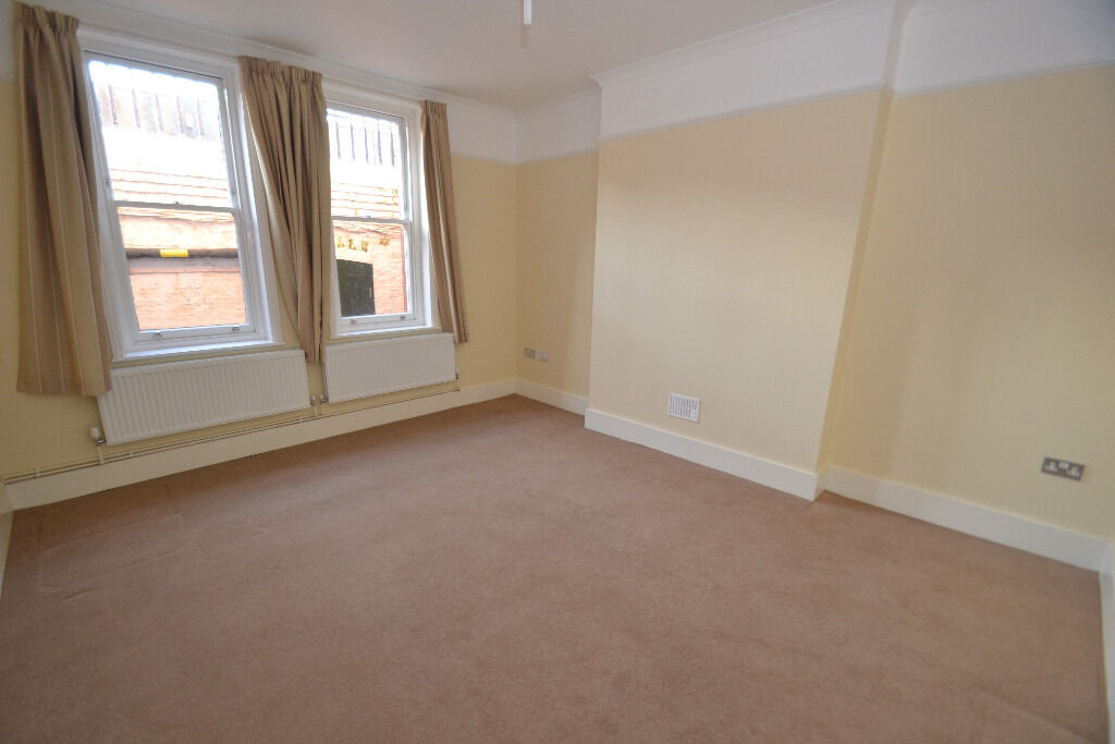 A recently refurbished first floor apartment located in a well maintained mansion block.