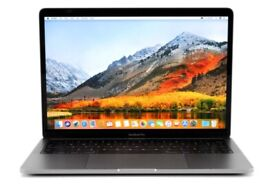 MacBook Pro 13-inch Core i7 1.7GHz Touch Bar 256GB - 8GB RAM (Space Grey, 2019) Mint A
