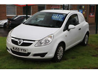 Vauxhall Corsa Van 1.3 CDTI with 12 months MOT