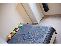 Double room in 3 bedroom flat. Available now.