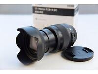 Nikon Lens - Sigma 17-70mm F2.8-4 DC Macro for Nikon DSLR *Latest Model* Boxed 7 month old